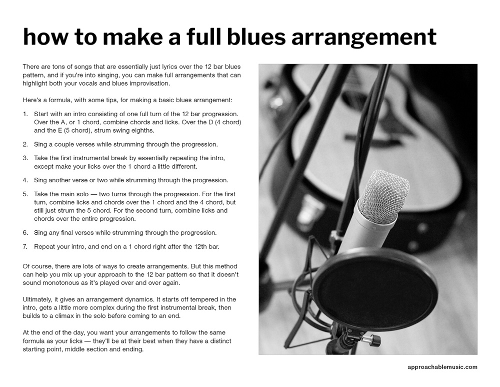 blues guitar PDF preview 4